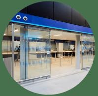 London Bridge customer counter